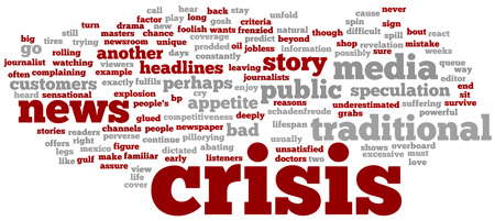 ُاعلام سوژههای گزارشگری بحران